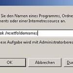 Standardordner nicht auf Deutsch