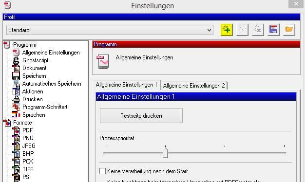 PDF mit Briefkopf erstellen