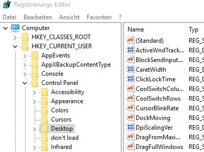 Server 2012 Alias erstellen