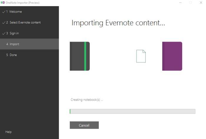 Evernote zu OneNote umziehen