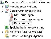 Dateiprüfungsverwaltung - Ransomware verhindern