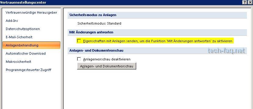 Dieses Element kann nicht gesendet werden - Outlook Anlagenbahandlung