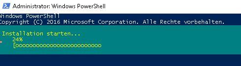 DHCP Server installieren per Powershell