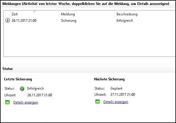 Windows Server-Sicherung-konfigurieren - Übersicht