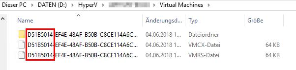 Hyper-V VM hart ausschalten