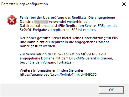 DFS Migration Windows Server 2019
