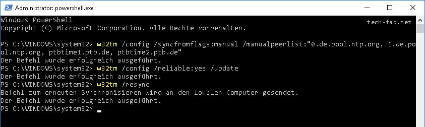 Zeitquelle vom Domänencontroller konfigurieren - NTP Server