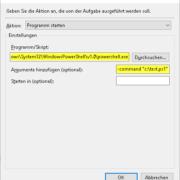 PowerShell Skript per Aufgabenplanung ausführen