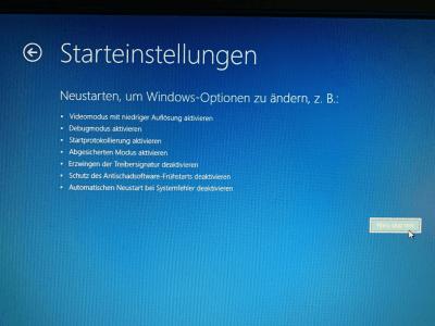 Windows 10 abgesicherter Modus starten