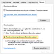 MSTSC - Remotedesktop Verbindung herstellen