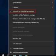 Windows Taskansicht deaktivieren