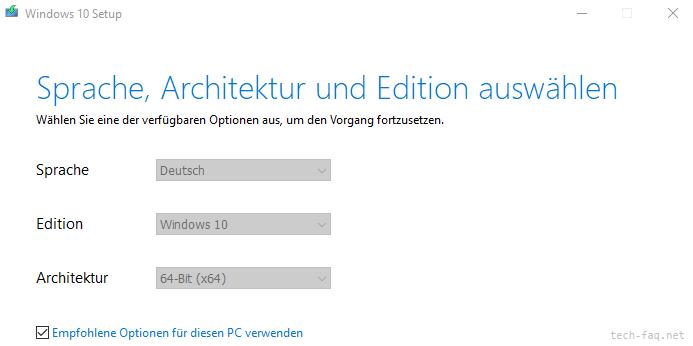 Windows 10 USB-Stick