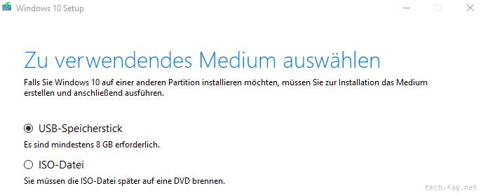Windows Setup vom USB-Stick booten