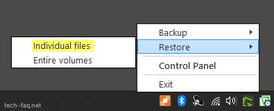 Recovery einzelner Dateien mit Veeam