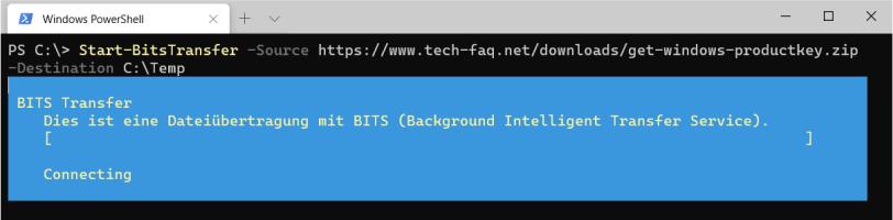Dateidownload per PowerShell