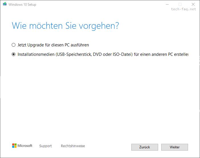 Windows 10 herunterladen als ISO