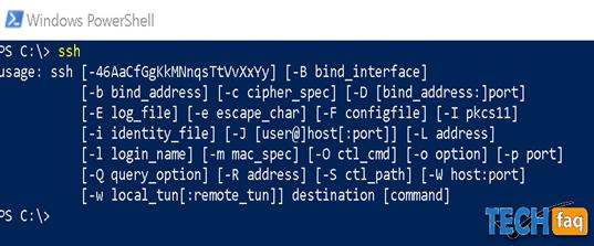Mit Windows SSH Verbindungen herstellen
