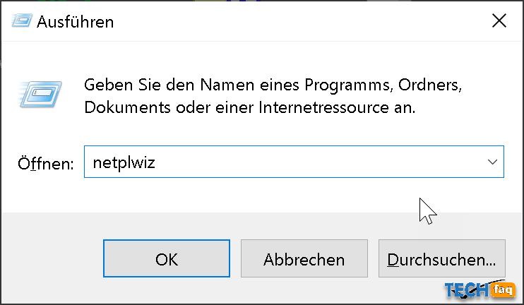 Automatische Anmeldung in Windows 10 einrichten