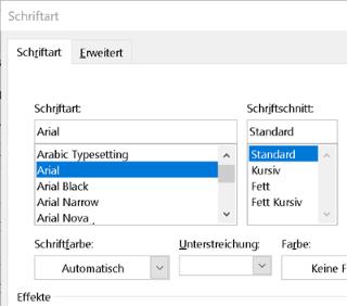 Outlook Schriftart ändern - ganz einfach