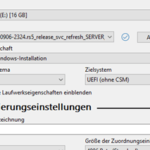 UEFI Boot-Stick erstellen