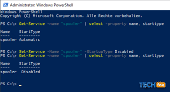 Windows Dienste konfigurieren mit PowerShell