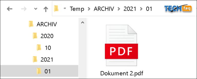 Dateien nach Datum sortieren per PowerShell